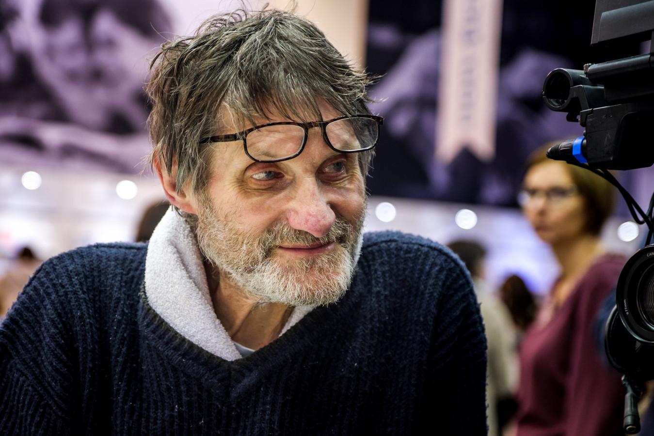 Robbe De Hert op de Boekenbeurs in 2017;