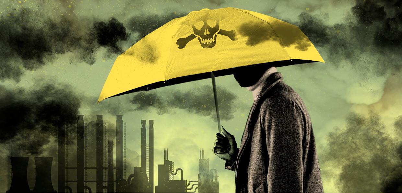 'We leven onder een enorme zwarte deken van giftige stoffen die ons ziek maken' Beeld Jeroen Los