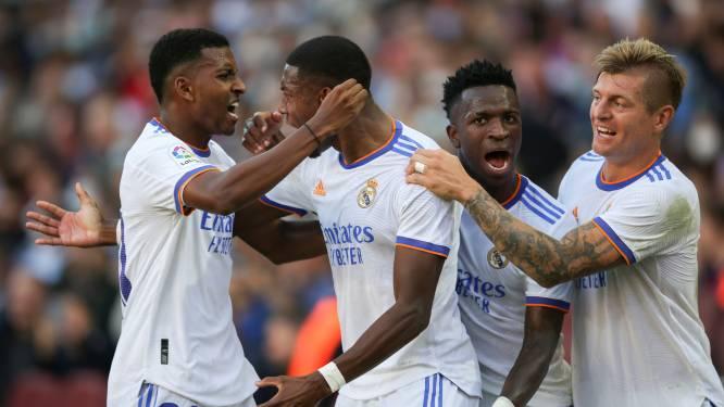 Solide Courtois triomfeert in Clásico, die Real wint dankzij héérlijke goal Alaba en eentje van Vázquez