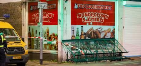 Beschoten Poolse supermarkt in Rotterdam-West: 'Schutter opende vuur vanaf de achterbank'