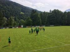 Nog geen spoor van Van Persie in Oostenrijk