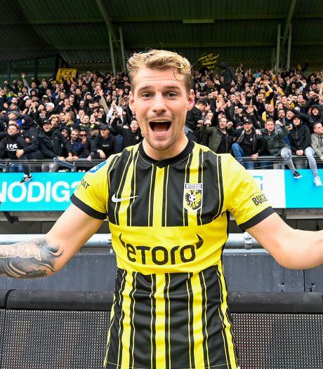 Baden Frederiksen voor altijd in de geschiedenisboeken van Vitesse: 'Mooiste dag uit mijn carrière'