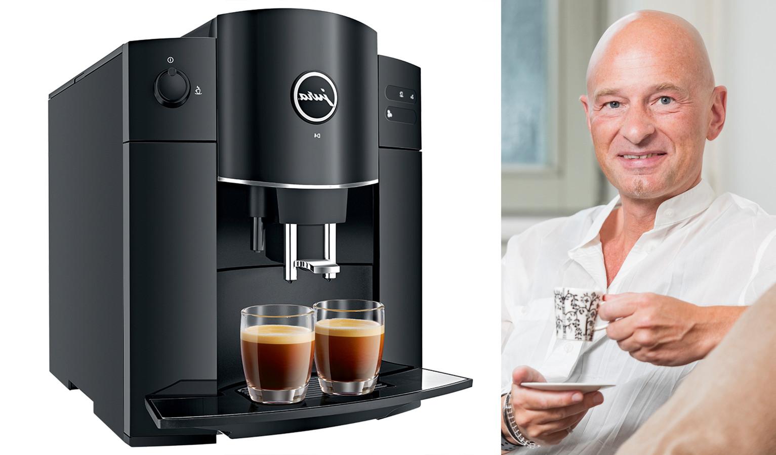Links: Jura D4 Piano Black | Koffiekenner Peter Hernou legt uit waarop je moet letten bij de aankoop van een espressomachine.