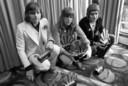 Emerson, Lake & Palmer, hier tijdens hun glorietijd in de jaren zeventig, behoren tot de muzikale helden van Dick Jaspers. Uiterst rechts drummer Carl Palmer die de biljarter ooit ontmoette bij een drumclinic in Engeland.