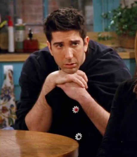 David Schwimmer liet rol als Ross in Friends bijna schieten