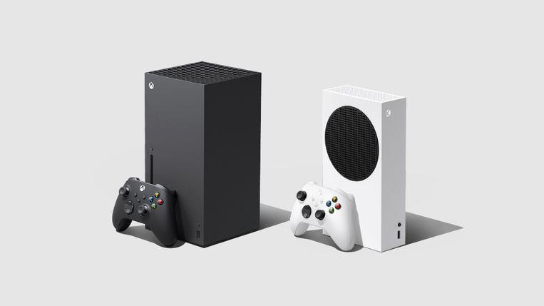 Microsofts next generation gaming consoles. Beeld Reuters