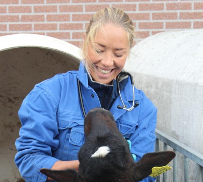 Dierenarts Vivianne van Leeuwen-Beeks: ,,We merken dat steeds mensen schapen houden.'