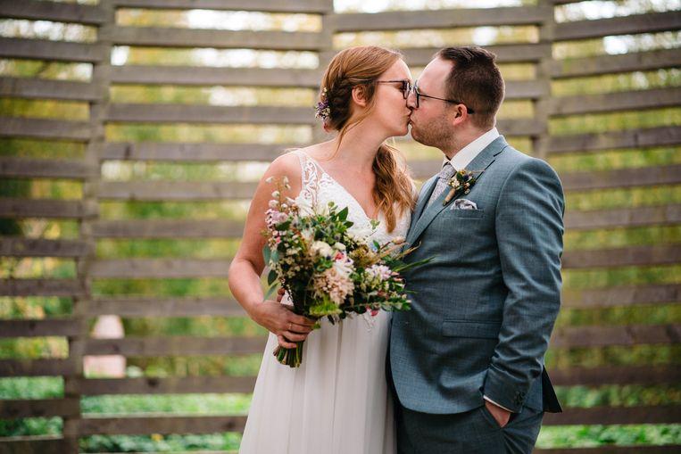 Joke en Stijn - Blind Getrouwd - trouwfoto's