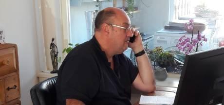 Zo maakt vormgever Richard de krant vanuit huis: 'Communicatie is een uitdaging'