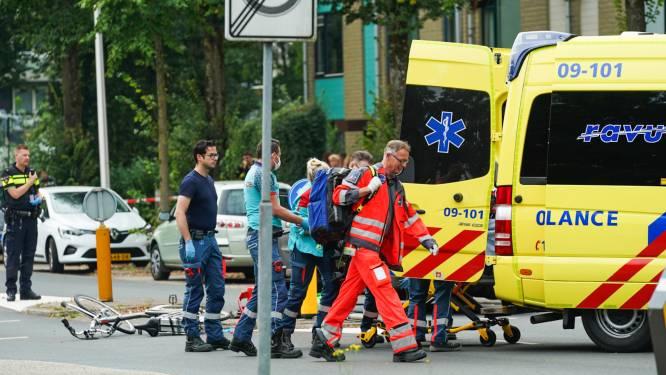 Fietser ernstig gewond door botsing met auto in Utrechtse wijk Lunetten