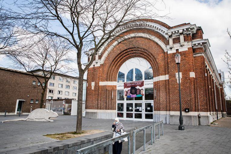 Het gebouw van Let's Go Urban op het Kiel in Antwerpen Beeld Aurélie Geurts