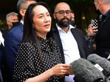 Topvrouw Huawei verlaat Canada na deal met justitie VS, China laat gevangen Canadezen vrij