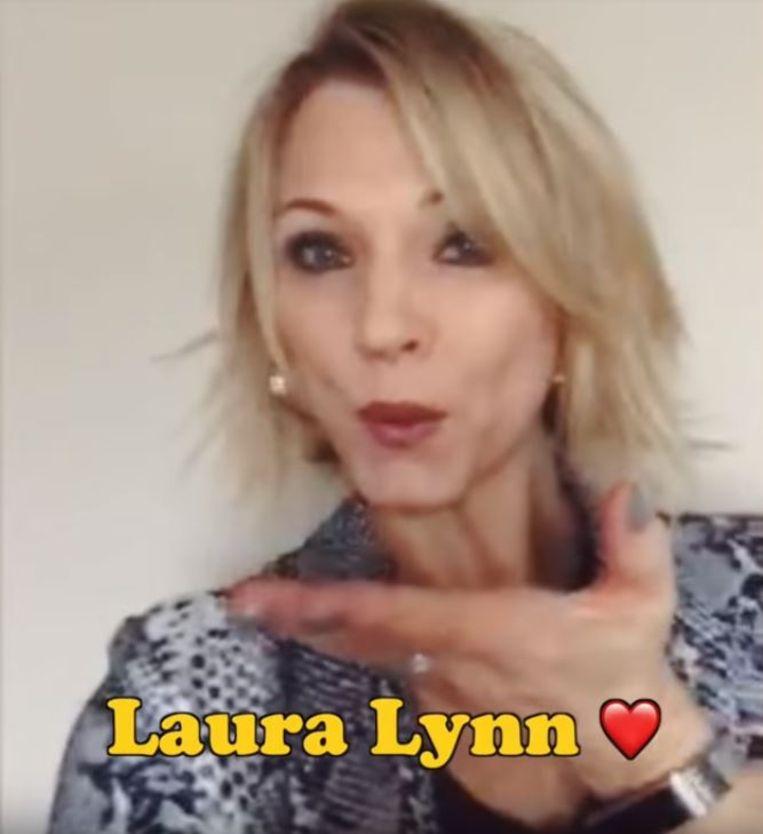 Veel liefde van jeugdliefde Laura Lynn voor Maximus.