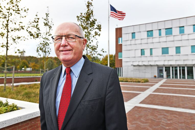 De Amerikaanse ambassadeur Pete Hoekstra. Beeld Guus Dubbelman/de Volkskrant