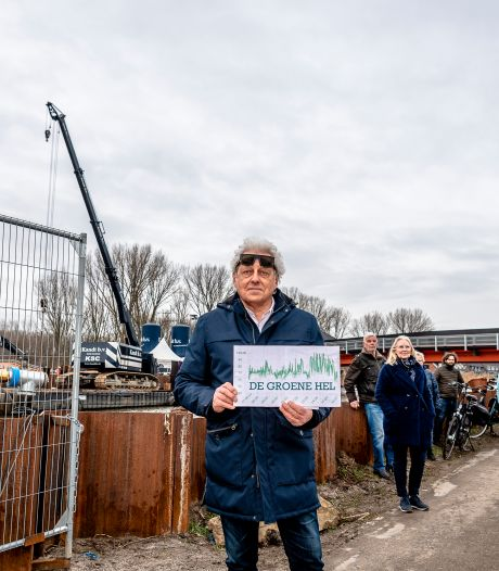 Omwonenden A16 Rotterdam hekelen Rijkswaterstaat om bouwoverlast