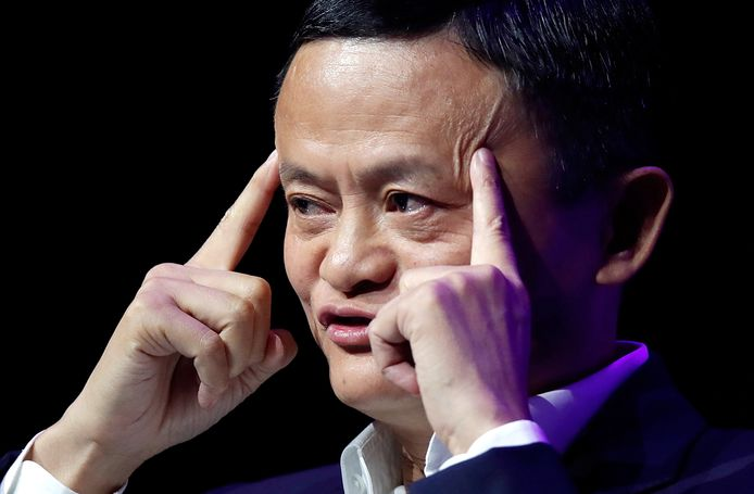 Miljardair Jack Ma.