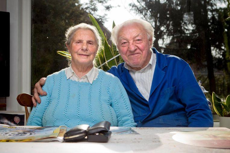 Louisa Geenen en Raymond Boonen.