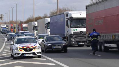 File tot in Veurne door stiptheidsacties Franse douaniers