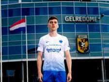 John Frostbrug en Eusebiuskerk op nieuw wit-blauw 'Arnhems' uitshirt Vitesse