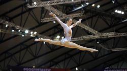 Nina Derwael pakt zilver op de balk in Doha
