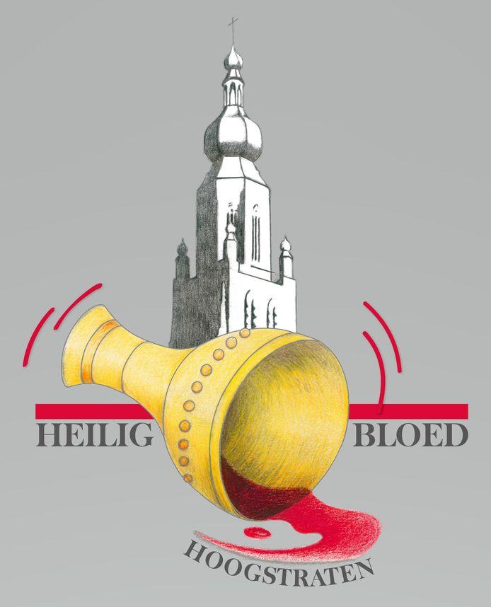 Het nieuwe logo van van de hand van Lieve Boeykens.