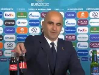 """Ook Belgen hebben oog voor colaflesjes tijdens persconferentie: """"Duivels houden van Coca Cola"""""""
