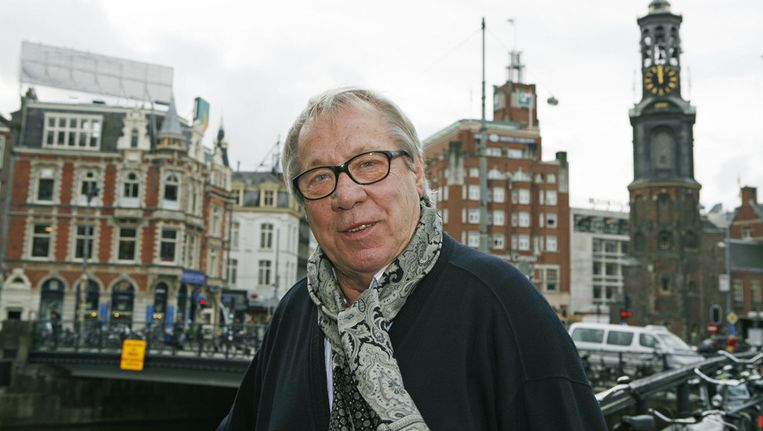 Piet Römer in het centrum van Amsterdam. © ANP Beeld