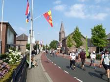 Heldenontvangst Vierdaagselopers in Gennep