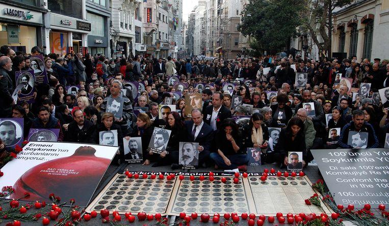 Istanboel, Turkije.Beeld EPA