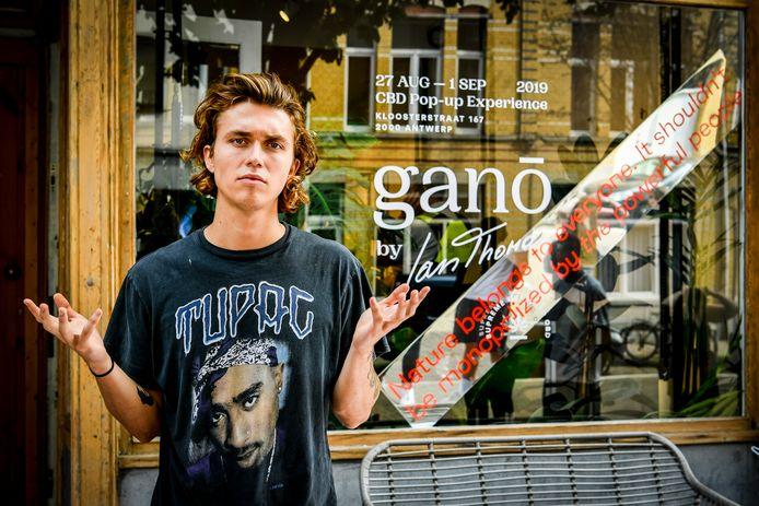 CBD shop van Ian Thomas genaamd Gano gesloten door politie en douane
