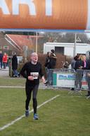 Volkert van der Graaf tijdens een hardloopwedstrijd in Gelselaar (2018).