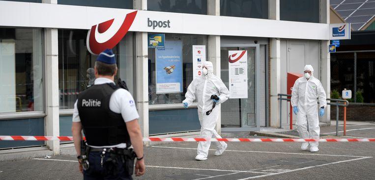 Op 21 juni vond er ook nog een plofkraak plaats in bpost-kantoor in Lommel. Beeld BELGA