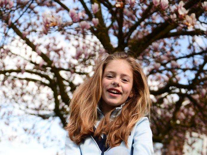 Anna Broekmaat is 11 en zit in de finale van 'Nik&Nik Make me a model'.