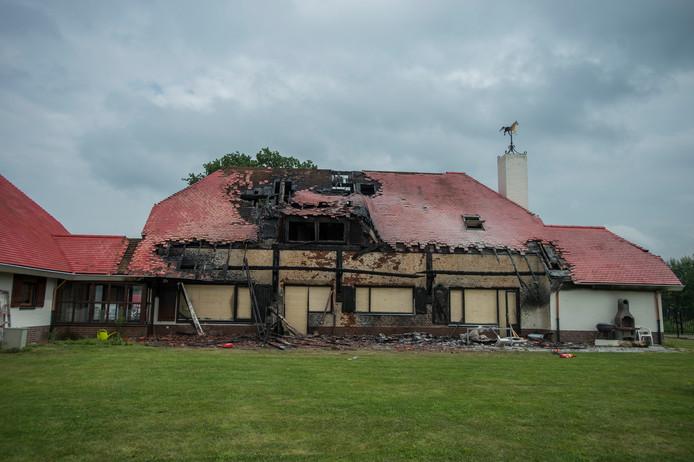 Vier gevallen van overlijden en een brand (op de voormalige woonlocatie aan de Hilvarenbeekseweg, foto van juli 2016) in twee jaar bij iXzelF.