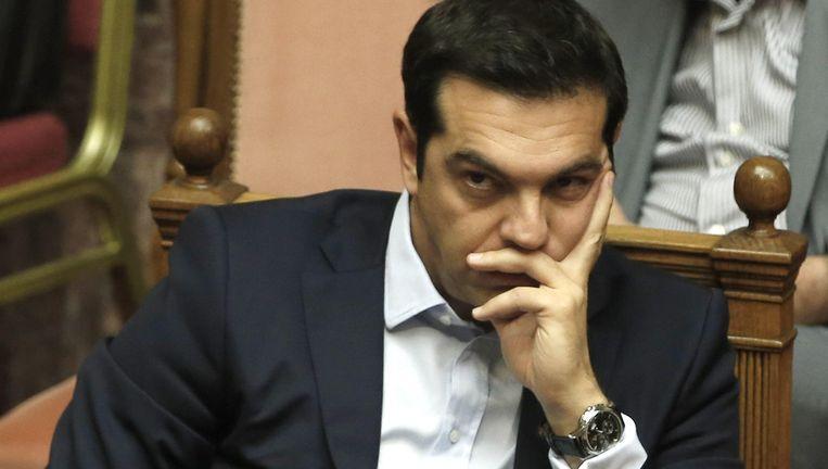 Grieks premier Alexis Tsipras. Beeld AP