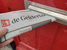 Tekst in krant weggevallen door storing in drukkerij De Gelderlander