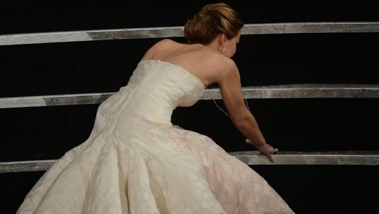 De gestruikelde Jennifer Lawrence.