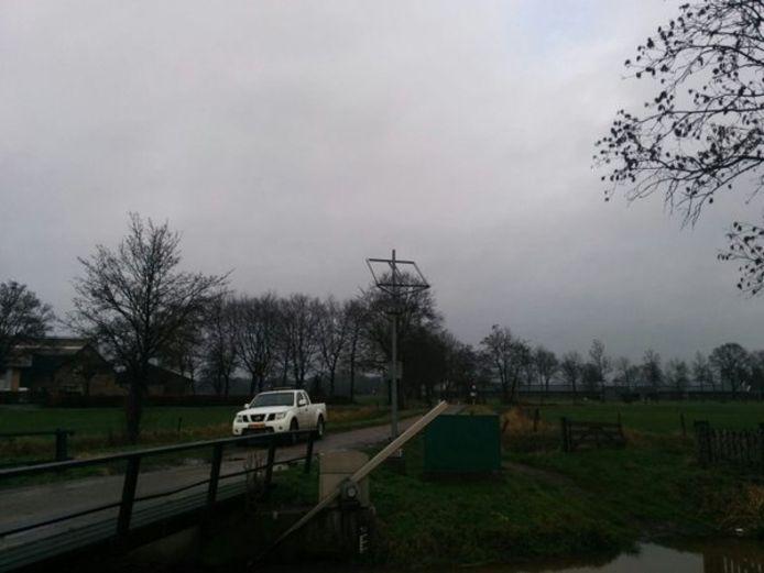 Zonnepanelen worden gestolen van waterschap Aa en Maas in Uden.