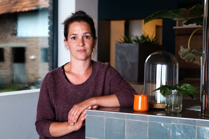 woordvoerder Katrien Strick van Burgerplatform voor SAMENleven in Sint-Truiden