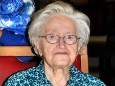 Oudste inwoonster Brabant op 107-jarige leeftijd overleden