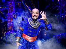 Musical Aladdin zondag eindelijk in première in Circustheater