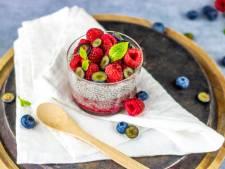 Wat Eten We Vandaag: Chia-pudding met banaan en frambozen
