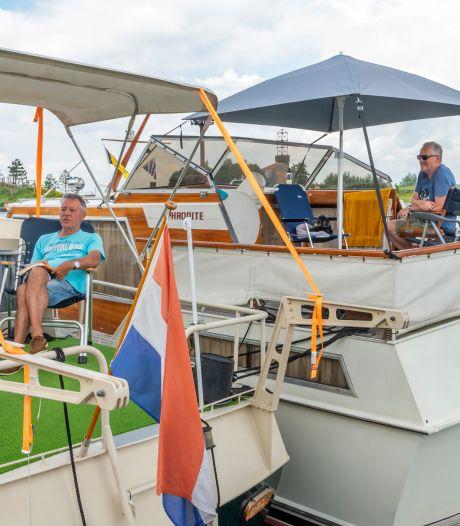 Als sardientjes in blik in de haven van Harderwijk: 'Ze liggen soms vier rijen dik aan de steiger'