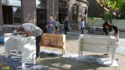 """Bewoners Landuit vormen kleuterschooltje om tot buurthuis: """"Het brengt nu al mensen samen"""""""