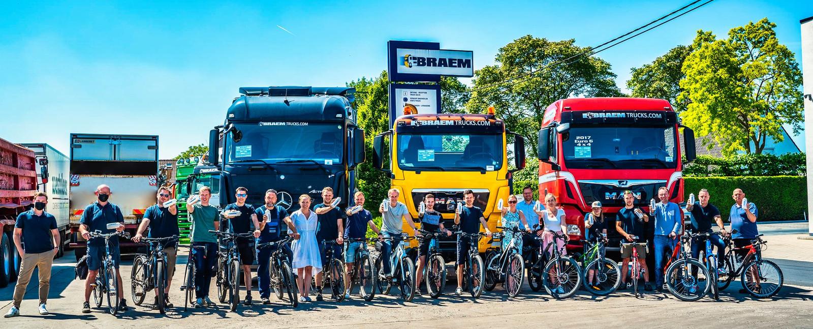 Meer dan 13.500 werknemers lieten hun auto staan, en fietsten van en naar hun werk tijdens de campagne.