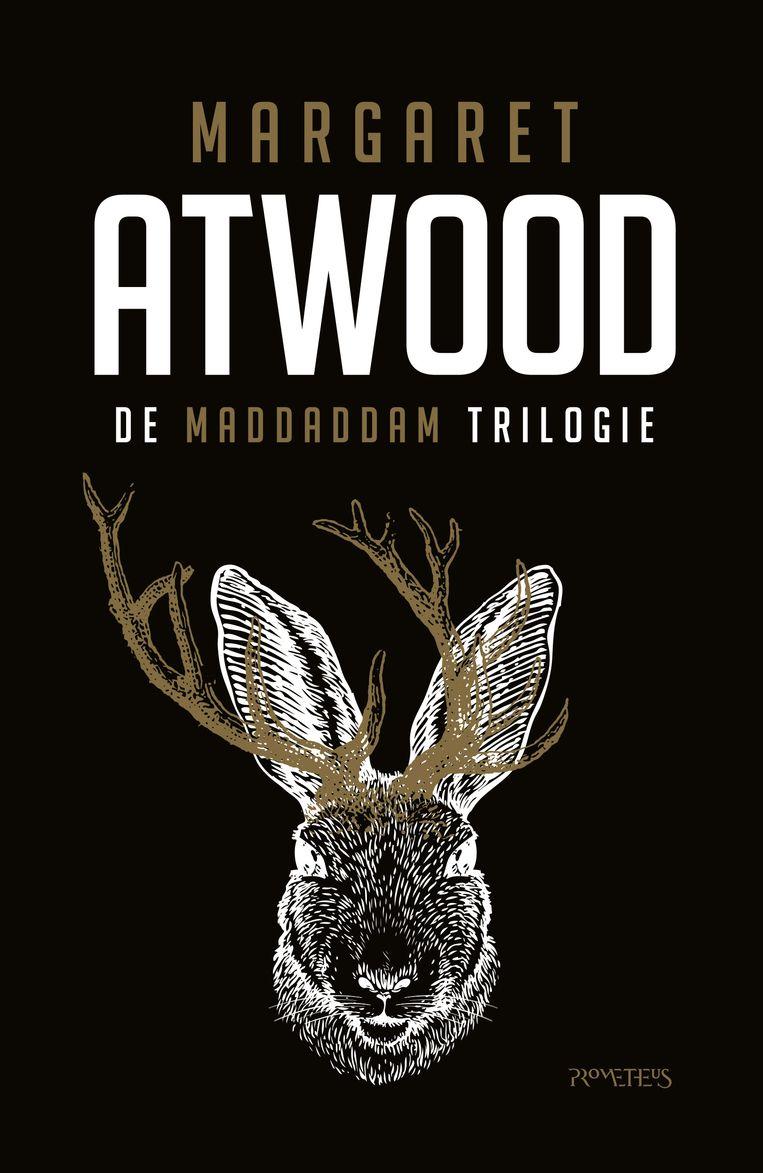 Margaret Atwood: De MaddAddam trilogie. Prometheus, cover Jan van Zomeren Beeld