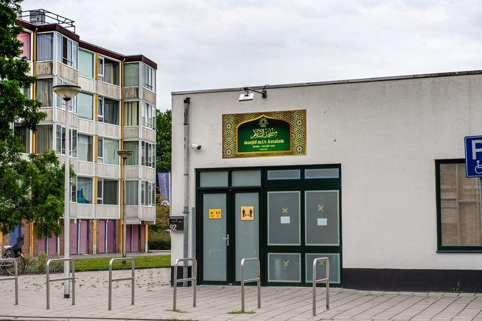 Moskee Assalam aan de Dunantsingel in de wijk Oosterwei in Gouda.