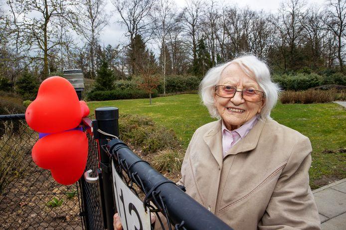 Ank van der Wal is 100 jaar.