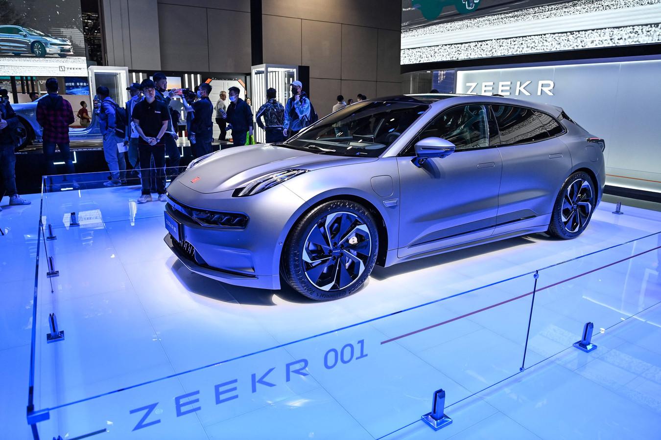 De Zeekr 001: eerste auto van een nieuw Chinees luxemerk dat ook plannen heeft om naar Europa te komen.