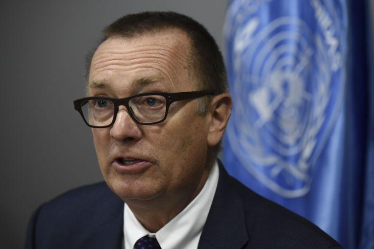 Jeffrey Feltman, hoofd politieke zaken bij de Verenigde Naties.